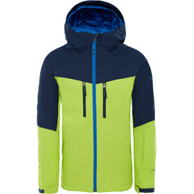 The North Face Youths Chakal Insulatet Jacket Lime Green